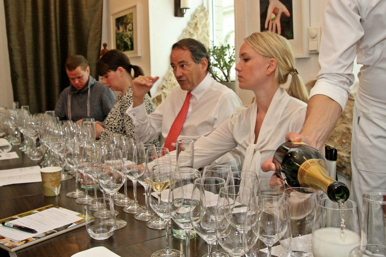 Champagnelunch med vinmakare Bruno Paillard!